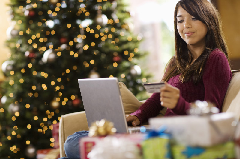 Christmas Online Shopping - VISA promo