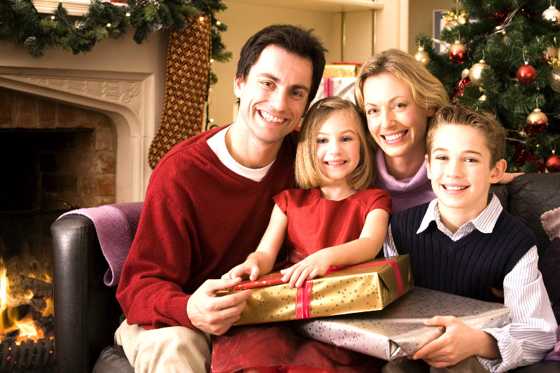 Holiday Loan special - Christmas Family Image