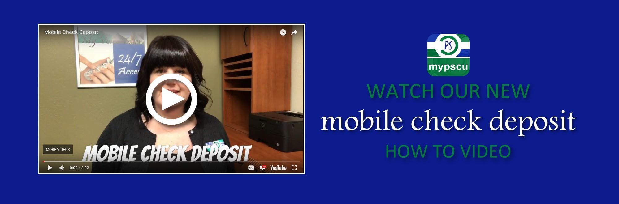 Mobile Check Deposit Video Image