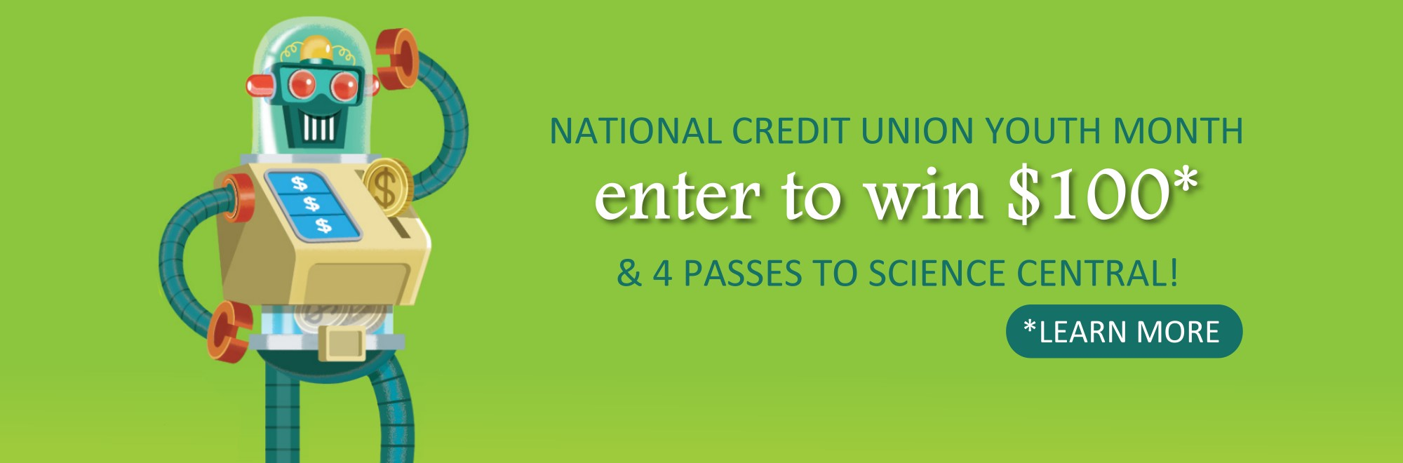 youth enter to win $100 & science central passes