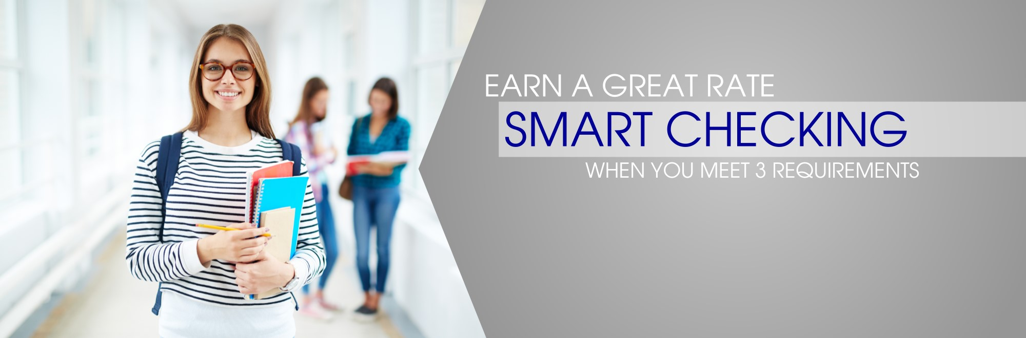 smart checking earn a great rate