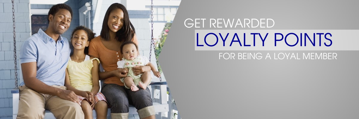 Get rewarded for being a loyal member
