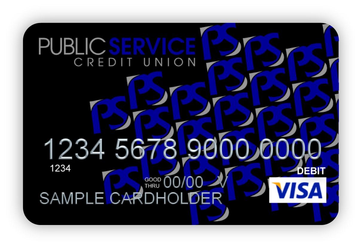 PSCU debit card image