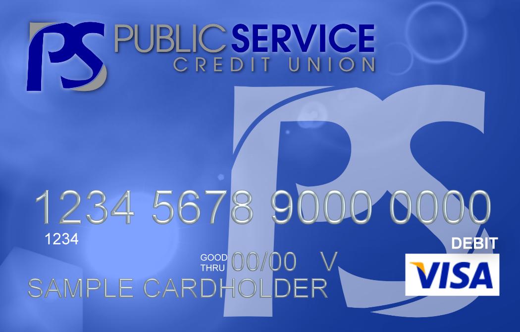 PSCU classic visa image