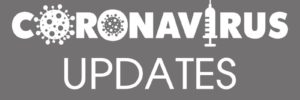 grey background with text coronavirus updates