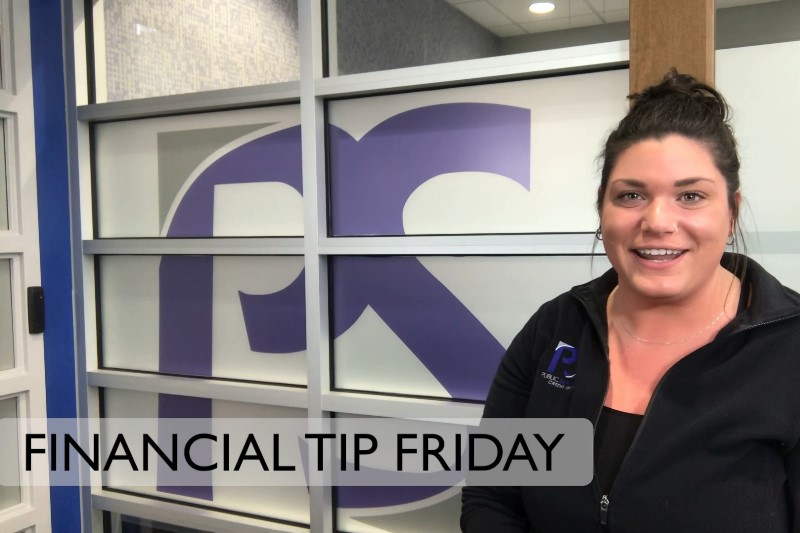 Financial Tip Friday Video with Courtney