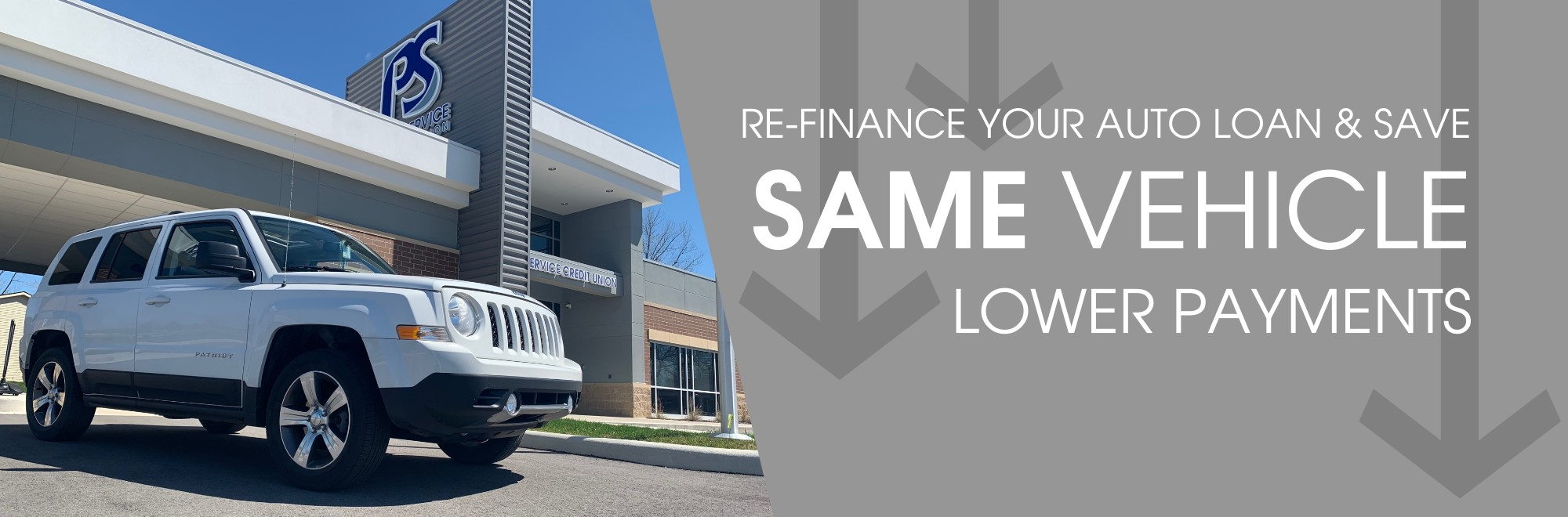 Refinance your auto loan and save money!  Same Vehicle. Lower Payments