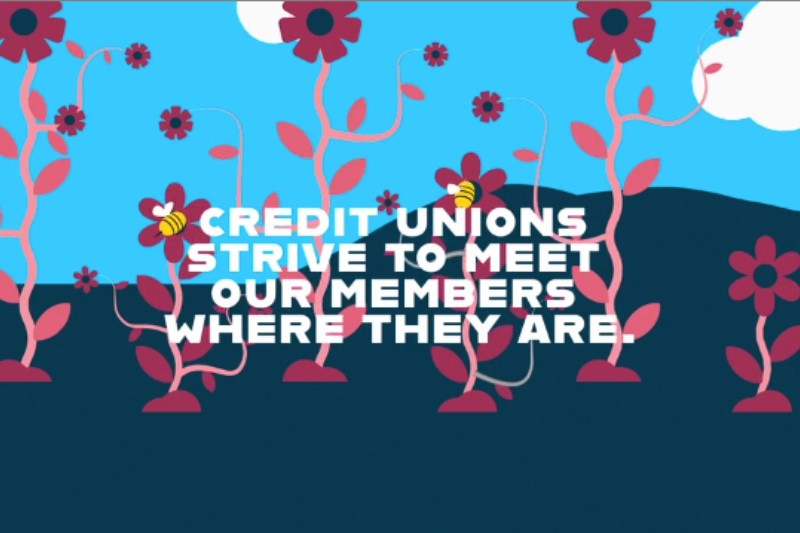 International Credit Union Day Video Snip- Credit Unions Strive to meet our members where they are.